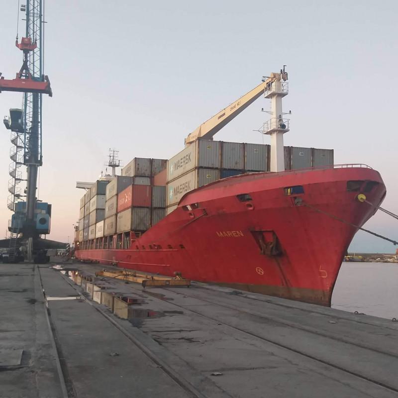 MAERSK effectue une escale inaugurale sur le port de GHAZAOUET