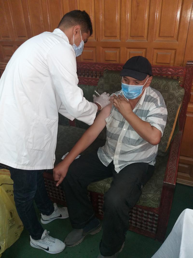 عملية التلقيح ضد فيروس كوفيد-19