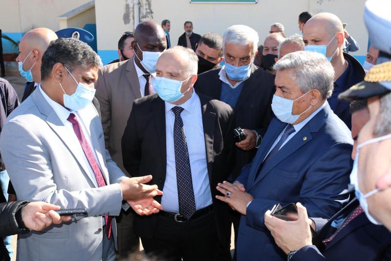 Visite du Directeur Général des Douanes au port de Ghazaouet